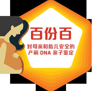 百份百对母亲和胎儿安全的产前DNA亲子鑑定